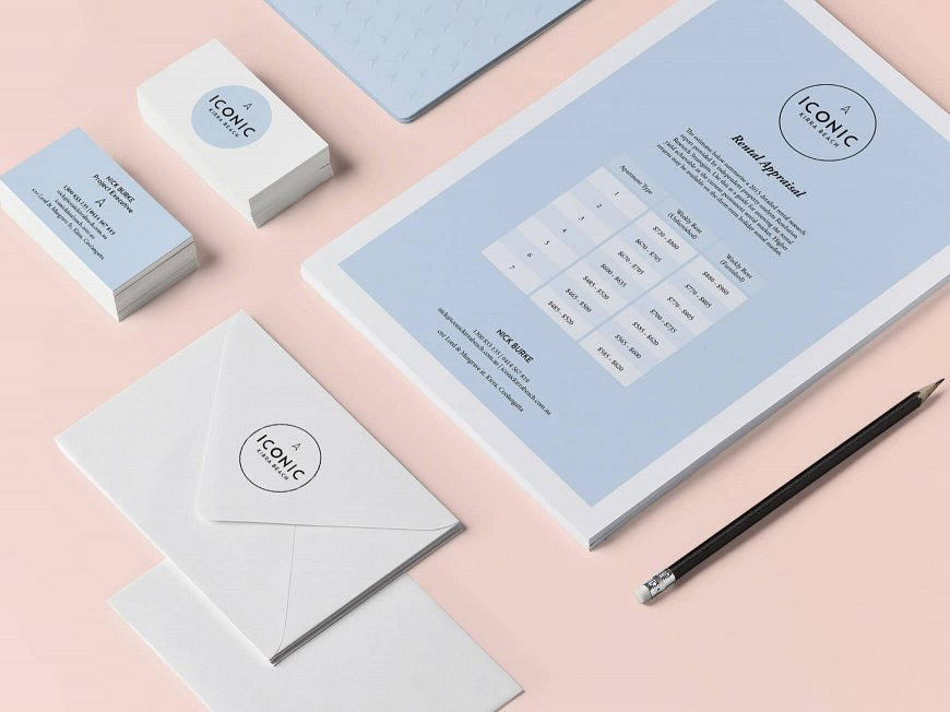 Small and Co Portfolio, Iconic Kirra Beach Stationery